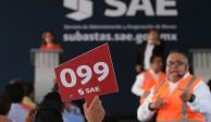 Gobierno obtiene 53.4 mdp con primera subasta del año