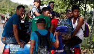 EU llama a hondureños a abandonar caravana migrante