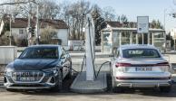 Audi invierte más de 100 mde en infraestructura de recarga en sus plantas