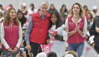 Doscientas cuatro mil mujeres, beneficiarias de Salario rosa en Edomex