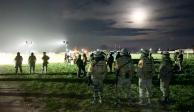 Ejército enfrenta a traficantes en QRoo por hallazgo de avioneta con droga