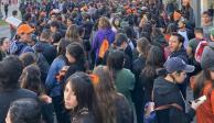 Megamarcha en Puebla: alumnos exigen justicia y seguridad