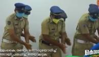 Con baile, policías enseñan cómo lavarse las manos y se vuelven virales (VIDEO)