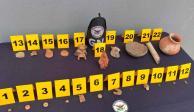 Guardia Nacional asegura 22 piezas arqueológicas en aeropuerto de SLP