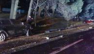 Un muerto y un herido por choque en autopista México-Toluca