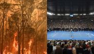 Abierto de Australia, en duda por incendios forestales