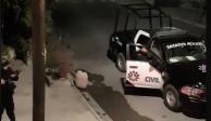 Exhibe video abuso de policías de NL; es por estrés dice secretario de Seguridad