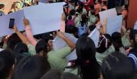 Normalistas protestan en Fiscalía de Tabasco por intento de violación a alumna