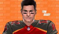 Con sólo un segundo en la cancha con Tampa, Brady impondrá récord