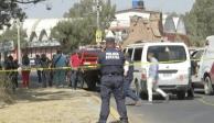 Balean una combi del Movimiento Antorchista en Chalco; hay 3 muertos