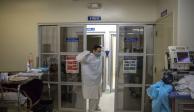 Deceso en SLP, un hombre contagiado de COVID-19... y además influenza