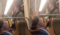Hombre genera pánico en el Metro al fingir coronavirus (VIDEO)