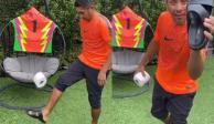Con todo y chanclas, Jorge Campos se suma al #10ToquesChallenge (VIDEO)