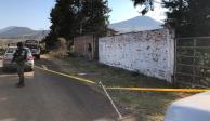 Reconocen a 4 de 13 víctimas de fosa clandestina en Uruapan