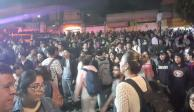 Encapuchados intentan tomar CCH Naucalpan, pero alumnos lo impiden