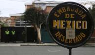 México no va a entregar a funcionarios asilados en embajada en Bolivia