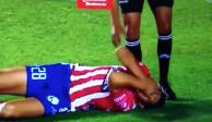 Lanzan objeto desde las tribunas y agreden a jugador del San Luis (VIDEO)