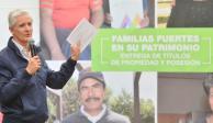 Más de 28 mil familias mexiquenses tienen título de propiedad: Del Mazo