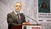 Ramírez Cuéllar suma apoyo de 103 de 257 diputados de Morena