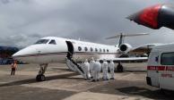 Aterriza en Perú avión y rescata a Ethel, la mexicana varada en Cusco