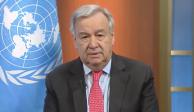 ONU pide cese el fuego mundial para combatir a COVID-19