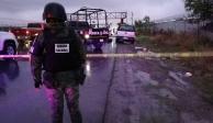 Encuentran restos humanos dentro de camioneta, en Apodaca, NL