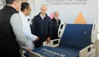 Del Mazo entrega  1,310 camas hospitalarias a 32 nosocomios del Edomex