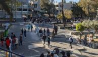 Desalojan a estudiantes y personal de la FES Aragón por amenaza de bomba
