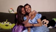 Tunden en redes a Memo Aponte por mensaje de amor a su novia y vestirla de Rapunzel