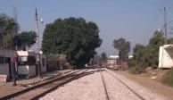Sin uso de la fuerza, GN retira bloqueo de CNTE en vías férreas de Uruapan