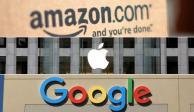 Investiga EU a Amazon, Apple, Facebook y Google por presuntas prácticas monopolicas