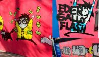 Grafitean mural de Sarah Andersen a 4 días de realizado