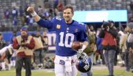 Con 2 Super Bowl y 16 años en NFL, Eli Manning se retira