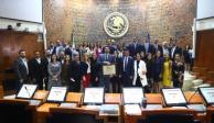 Rinden homenaje póstumo a Jorge Vergara en Jalisco por su contribución empresarial
