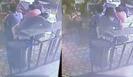 Así le robaron celular y mochila a diputado de Morena dentro de cafetería