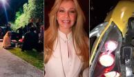 Ernestina Sodi, hermana de Thalía, atropelló a repartidor de comida (Fotos)