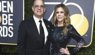 Tom Hanks y su esposa abandonan hospital tras contagio de Covid-19
