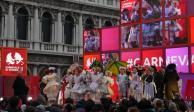 Clausuran el Carnaval de Venecia por coronavirus