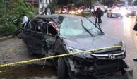 Muere mujer en fuerte choque sobre Circuito Interior
