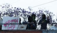 Paristas de UNAM no ceden ante virus y mantienen tomados planteles