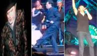 Sabina, Juan Gabriel y otros que sufrieron caídas memorables en el escenario