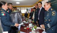 Omar Fayad ratifica confianza de Hidalgo en Ejército Mexicano