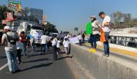 Colapsan recicladores accesos de autopistas a la CDMX