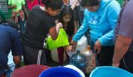 Inicia corte de agua en oriente de la ZMVM