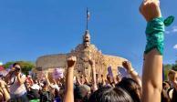 Marchan en Mérida por el Día Internacional de la Mujer (FOTOS)
