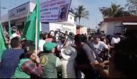 UNTA y familiares de Zapata protestan en homenaje al Caudillo del Sur