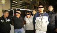 Policías fingen ser clientes y atrapan a 4 que robaban con Segunda Mano