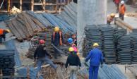 Sector de la construcción cae 9% a tasa anual y suma 17 meses a la baja