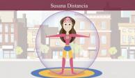 Susana Distancia, la heroína contra la propagación del COVID-19