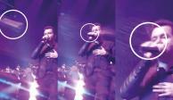 """Cantante de """"La Adictiva"""" recibe tremendo botellazo en la cara durante show (VIDEO)"""